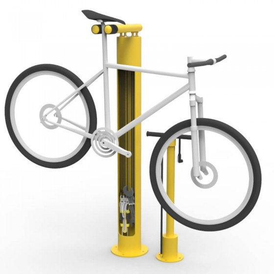 bmsp bike mainenance stand tyre pump colour