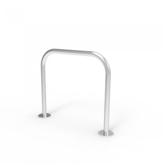 cbr1b stainless steel bike rail perspective