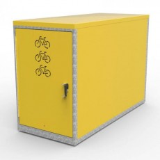 cbl 1 class a bike locker for 1 bike